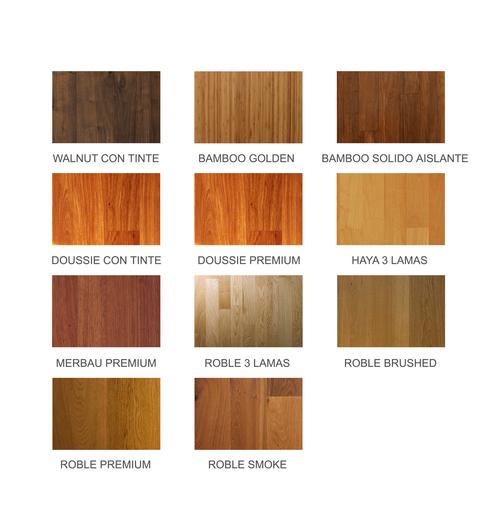 Pisos de madera urban de ab kupfer Tipos de pisos de madera