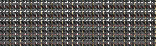 Aparici | Wicker Wall Tiles - Black Spike
