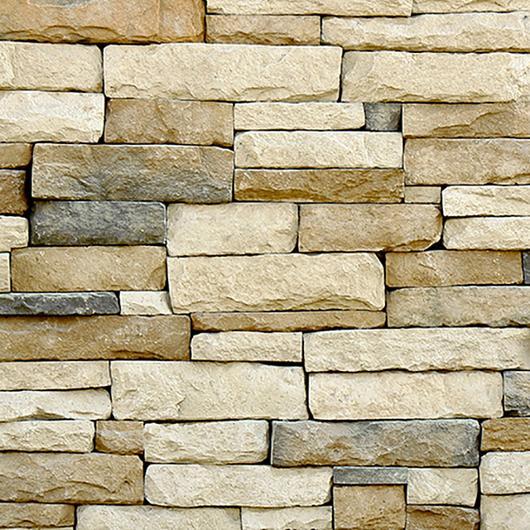 Revestimiento de piedra fabricada - Apilable Montaña / Metaldesign