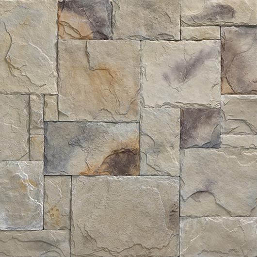 Revestimiento de piedra - Modelo Castillo Europeo Condado / Metaldesign