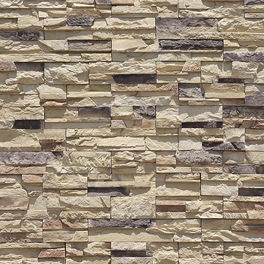 Revestimiento de piedra - Modelo Fast Set Península / Metaldesign