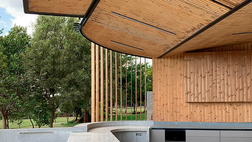 Lunawood in Residential Projects by Anthrop Architects
