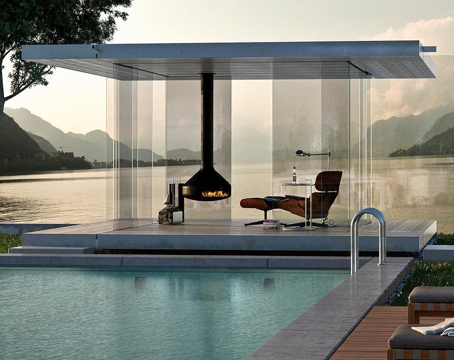 Glass Pavilion - GM Pavillon360