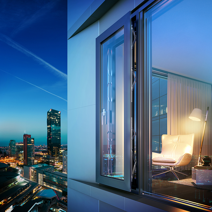 Parallel Opening Window - Masterline SoftTone®