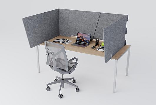 Arktura | Desk Partition - Glide