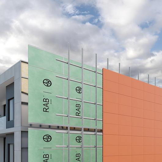 RAB™ Board as the Foundation of Modern Façades