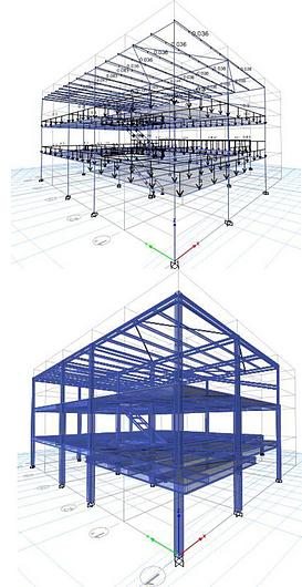 Modelo estructural proyecto