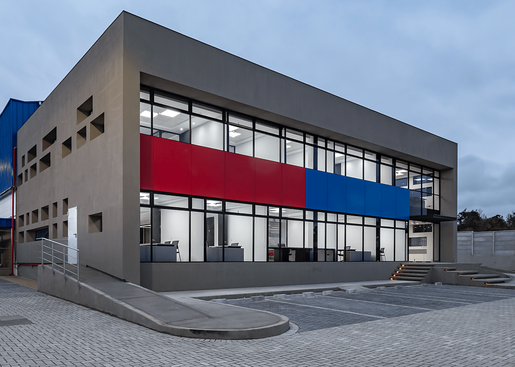 Archicad - Proyecto Sede Industrial Aliservis S.A.