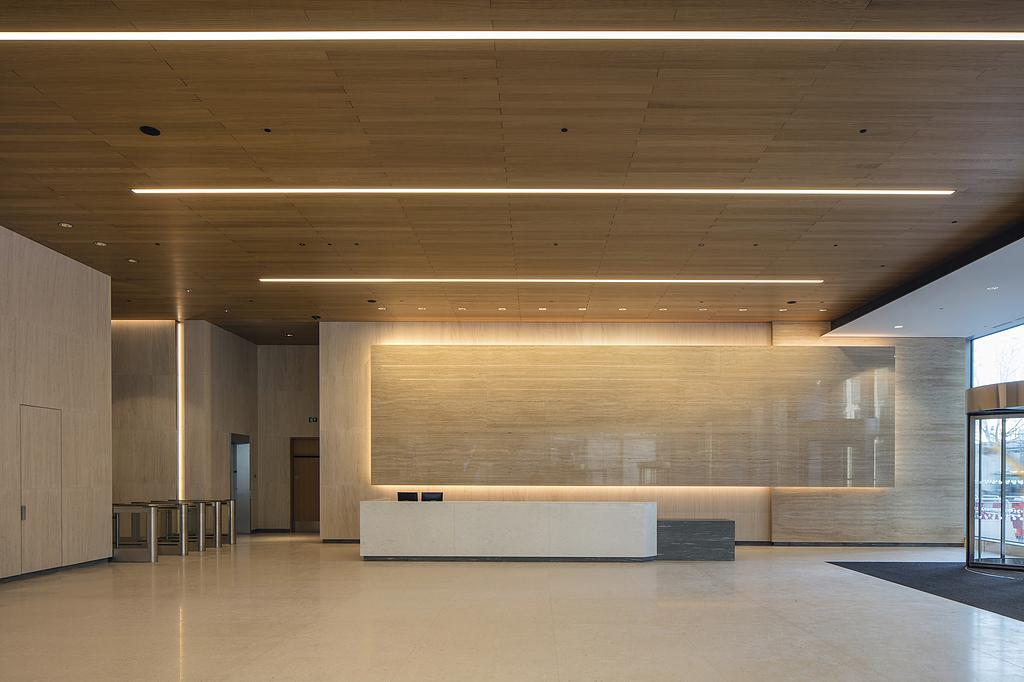 Wood – Veneered Wood Topline® Ceiling & Wall Panels