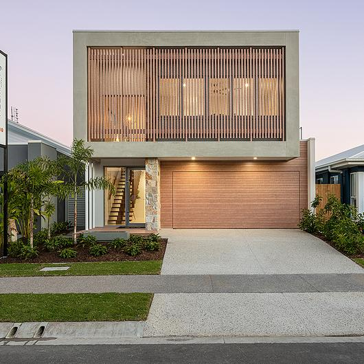 Timber-Look Aluminium in Ausmar Homes