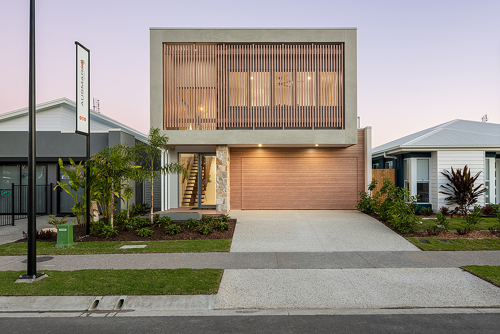 Timber-Look Aluminium in Ausmar Homes