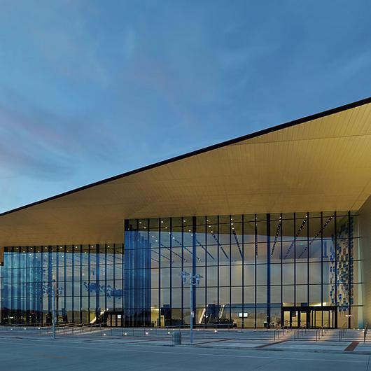 Metal Cladding in Owensboro-Daviess Convention Centre / MetalTech Global