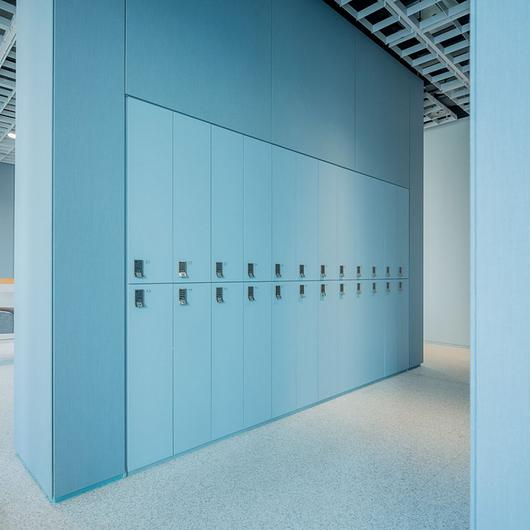 Acoustic Panel System in AMOREPACIFIC Headquarters / Kvadrat Soft Cells