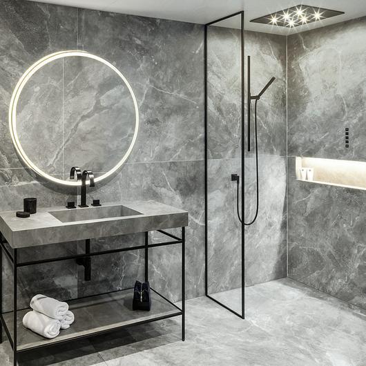 Washbasin and Shower Floor System - Surf® by Gerloff / AGROB BUCHTAL