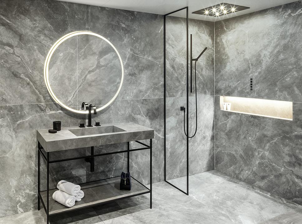 Washbasin and Shower Floor System - Surf® by Gerloff