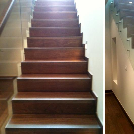 Galeria de pisos de madera escaleras y terminaciones 1 - Madera para peldanos de escalera ...
