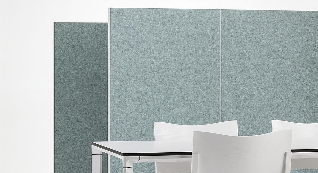Paneles aislados acústicos - Alumi Screens