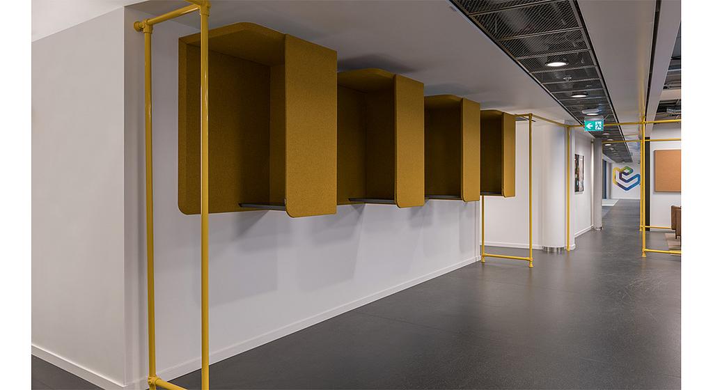 Módulos acústicos - Domo Wall Booth