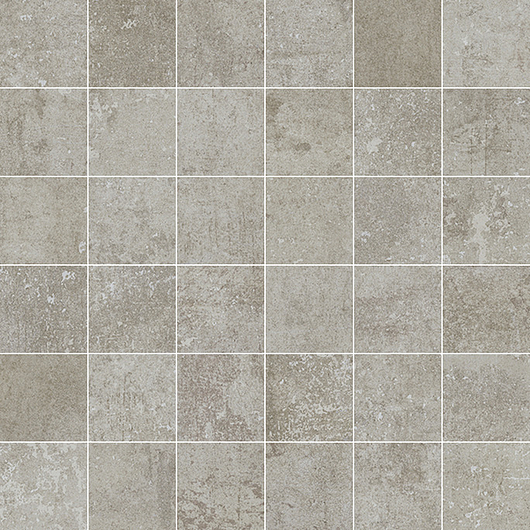 Attila Tile | Grey - Mosaico 5 x 5