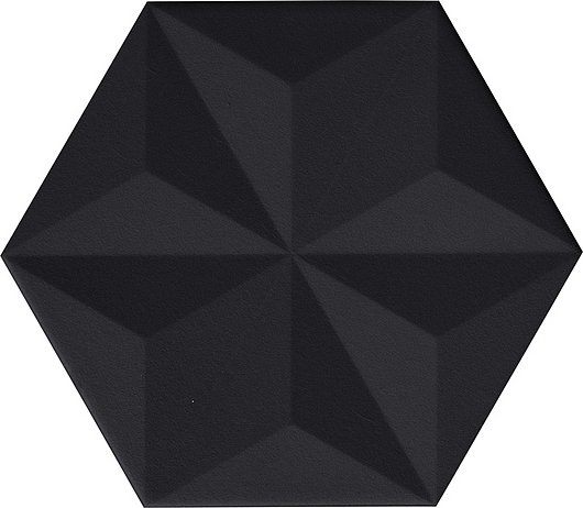 Chaplin Tile | Black - Vela