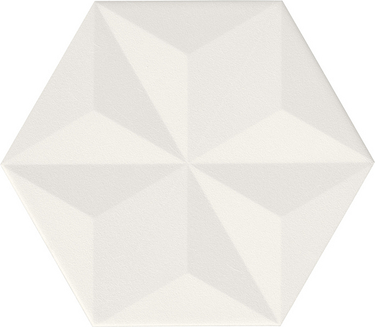 Chaplin Tile   White - Vela