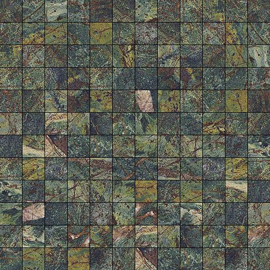 Vivid Tile | Green Rainforest - Mosaic