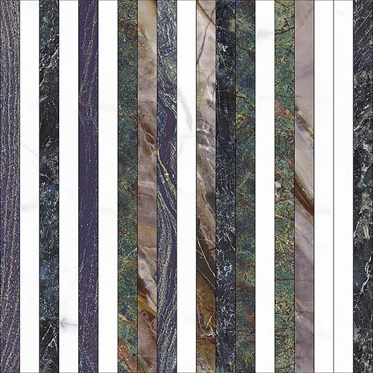 Vivid Tile | Lines Mix - Mosaic