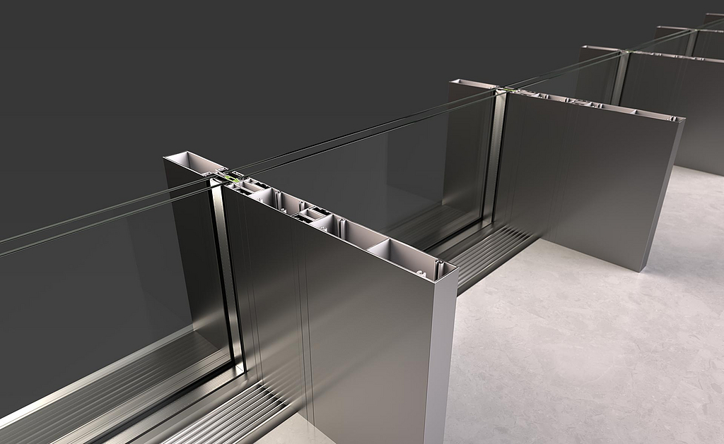 Minimal Curtain Wall – Rabel 35000 Slim Super Thermal