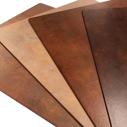 Rust-Look Aluminium Finishes