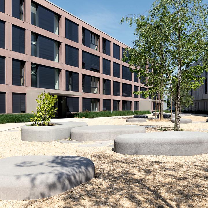 Concrete Bench - Nuton