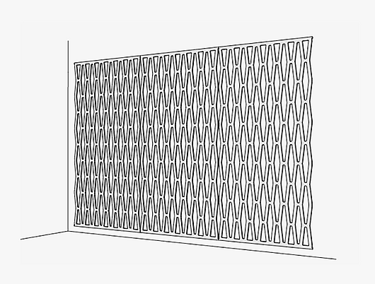 Arktura | SoftScreen® | Wall Attachment