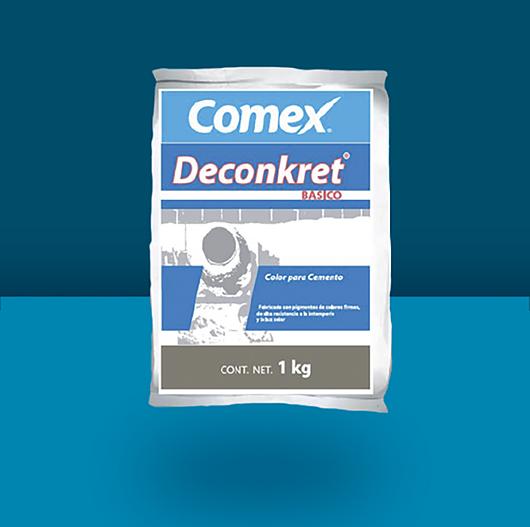Pigmento en polvo para cemento Deconkret® Básico