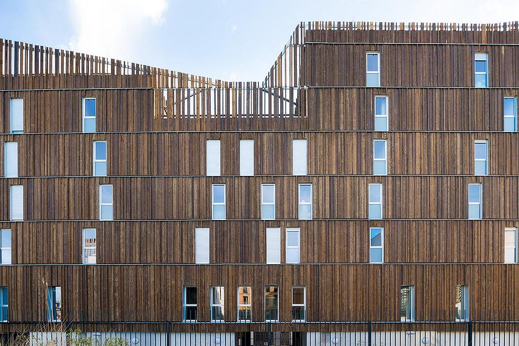 Fireproofing System for Wood Cladding - BIME®