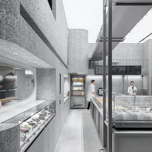 Holiland Concept Store - Alusion™ Stabilized Aluminum Foam / Cymat Technologies Ltd.