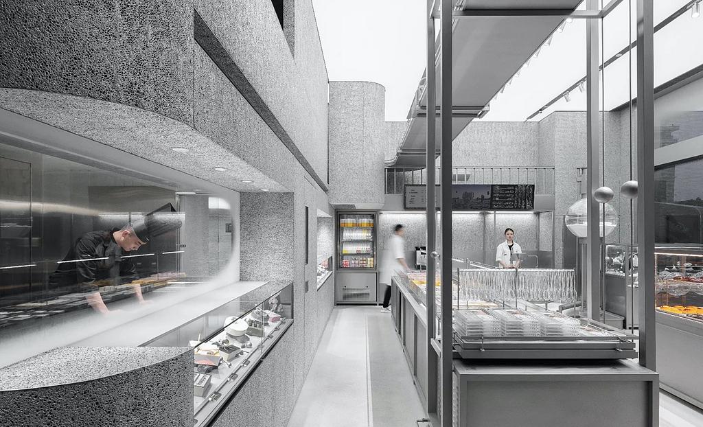 Holiland Concept Store - Alusion™ Stabilized Aluminum Foam