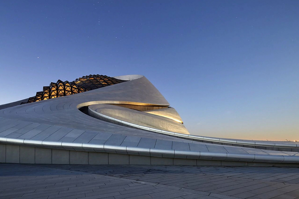 Construction Solutions in Harbin Opera House