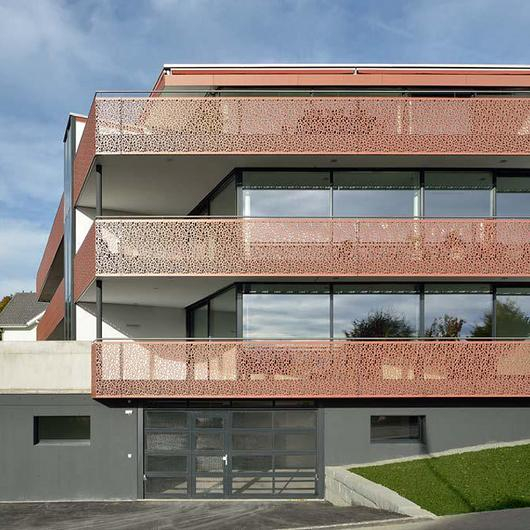 Choosing Exterior Perforated Panel Materials / Bruag