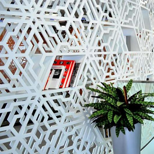 Choosing Interior Perforated Panel Materials / Bruag
