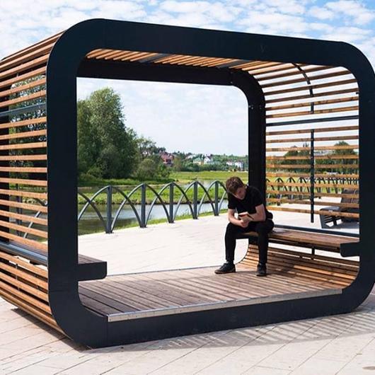 """Pavilion """"CUBE"""""""