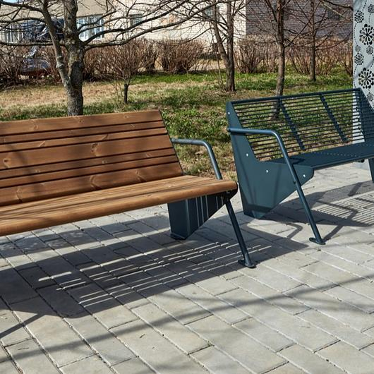 "Bench ""Boomerang"" - Long"