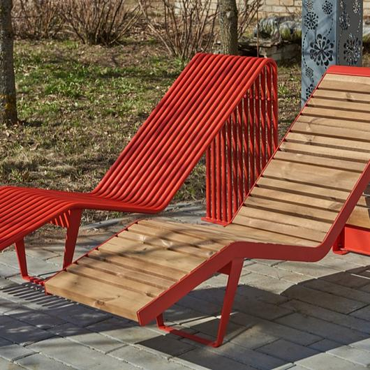 "Bench ""Infinity"" Sun Lounger"