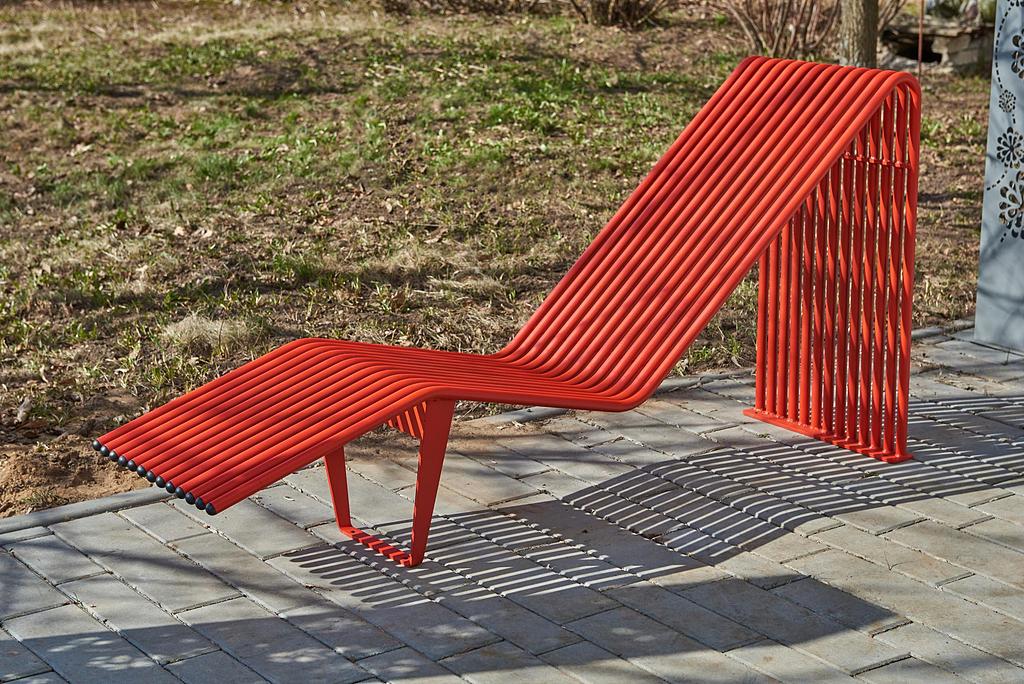 "Bench ""Infinity"" Sun Lounger"