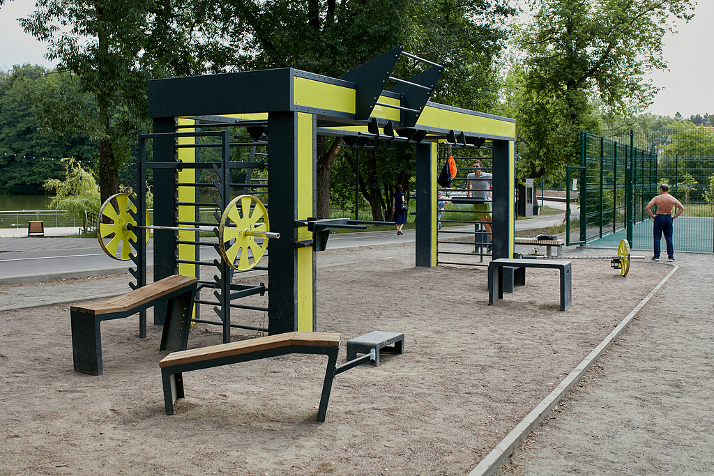 Workout Frame 'Punto Fit' in Fedorov Park