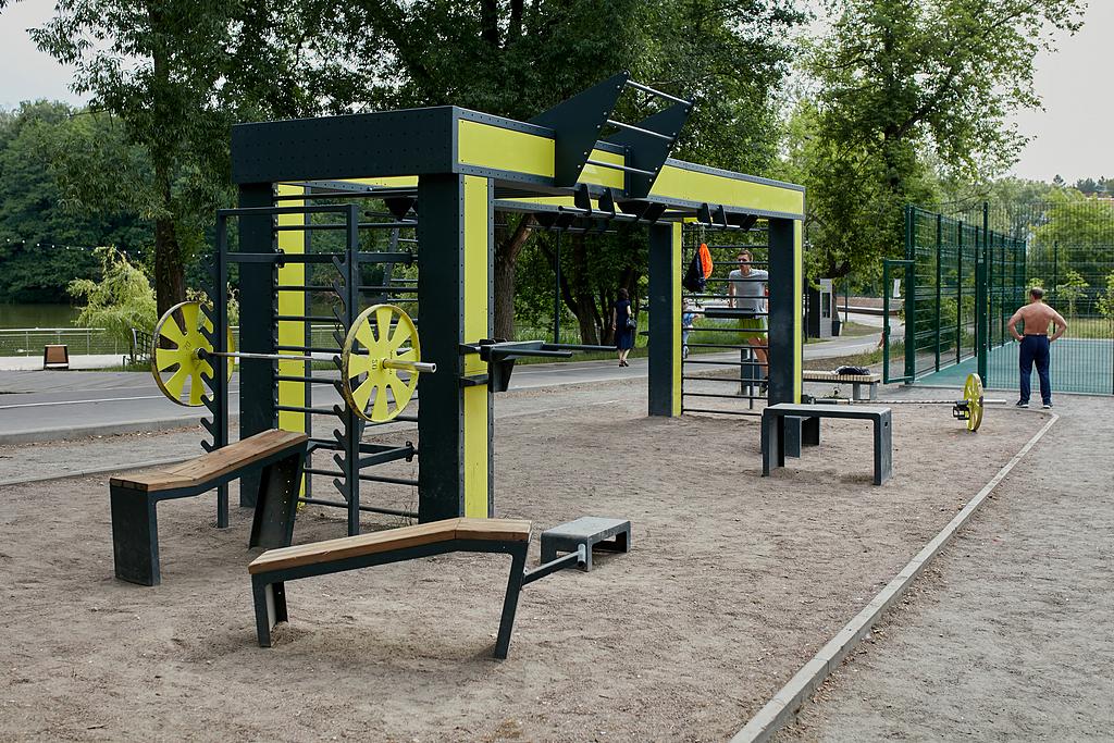 Workout Frame 'Punto Fit' in Fedorov Park