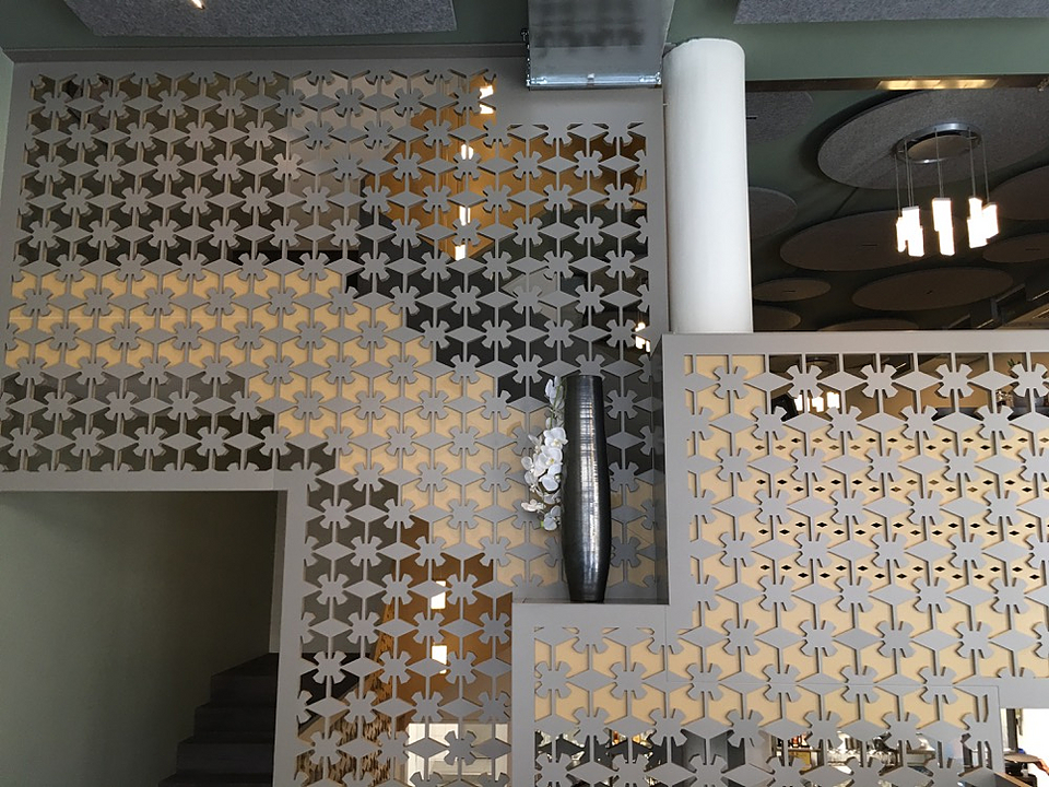 Stair Railing - MDF