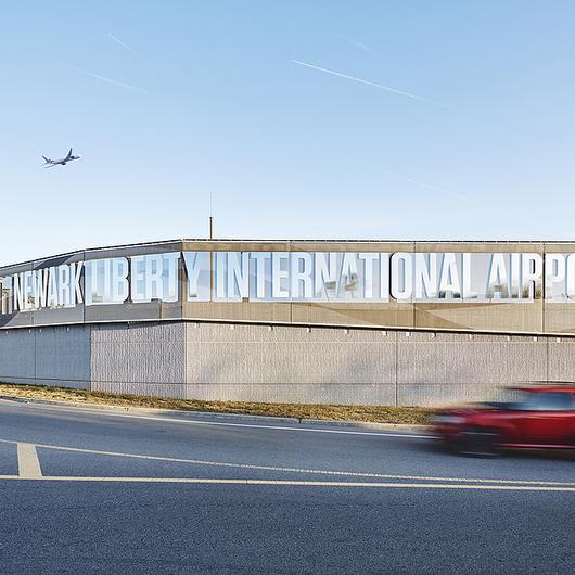 Metal Fabric in Newark Liberty Airport