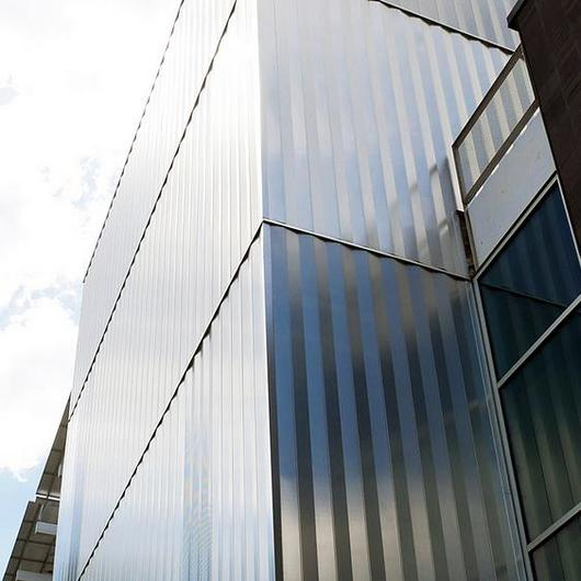Metal Cladding on The Living Building / Morin Corp.