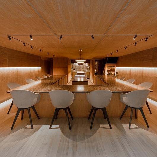 Furniture for Atomix Restaurant / BoConcept