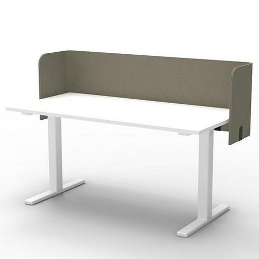 Desk Partition - BuzziTripl Wrap Desk / Buzzispace