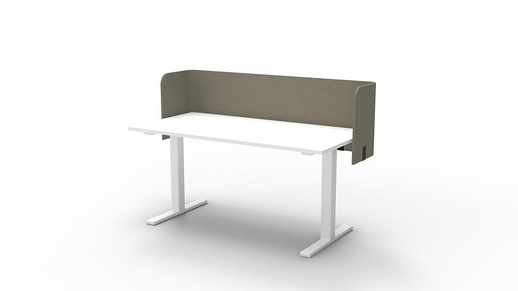 Desk Partition - BuzziTripl Wrap Desk